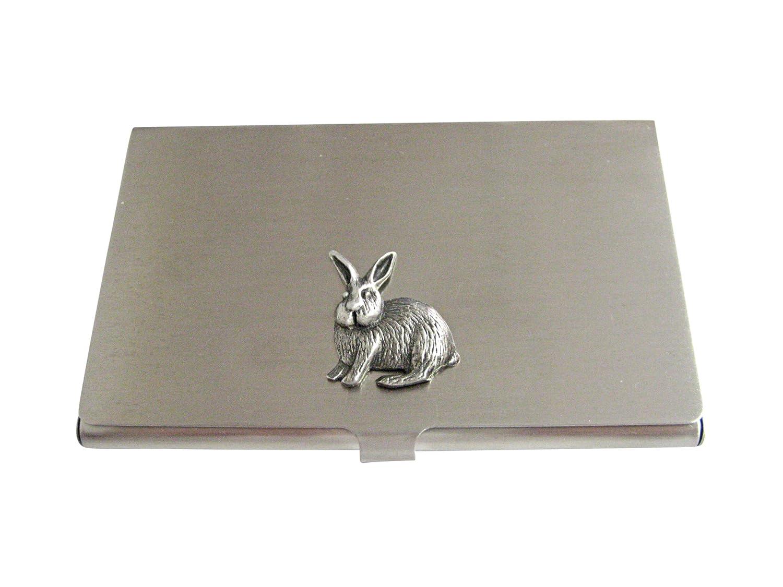 Textured Rabbit Hareビジネスカードホルダー   B01ISRMH48