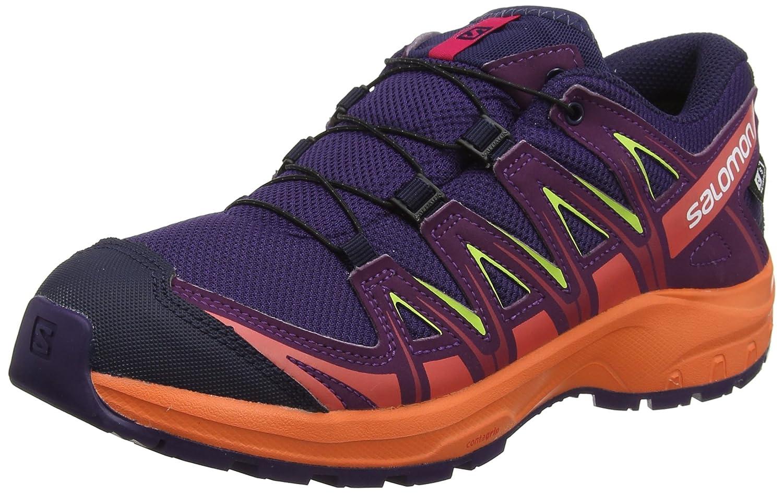 Salomon Unisex-Kinder XA Pro 3D CSWP J Trailrunning-Schuhe, Synthetik Textil