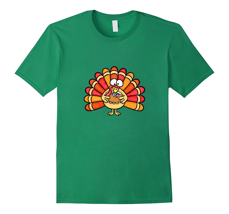 8c87f314b9756 Kids Turkey T-Shirt - Funny Thanksgiving Holiday Turkey Tee-ANZ ...