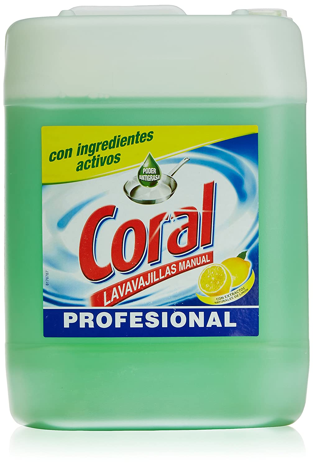 Coral Lavavajillas manual Profesional - 10000 gr: Amazon.es ...