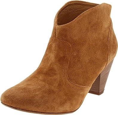 Steven by Steve Madden Women's Pembrook Ankle Boot,Cognac Suede,11 ...