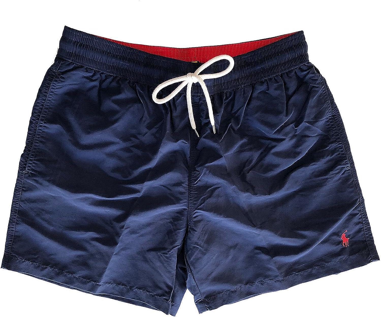 Polo Ralph Lauren - Bañador - para hombre Navy (005) XL: Amazon.es ...