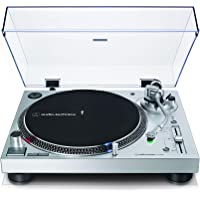 Audio-Technica LP120XUSB Platine Vinyle à Entraînement Direct (Analogue & Usb), Argent