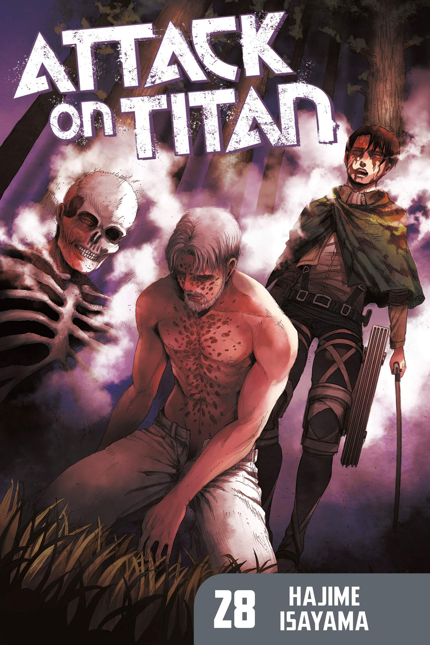 Attack Titan 28 Hajime Isayama product image