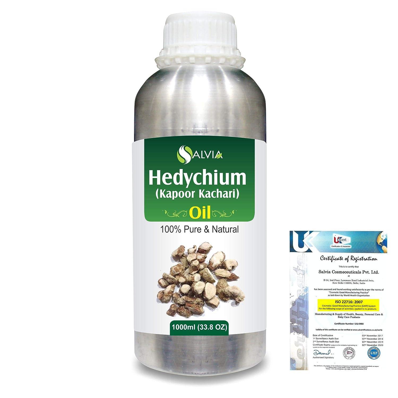 Hedychium (Kapoor Kachari) 100% Natural Pure Essential Oil 1000ml/33.8fl.oz. B07QZ3P5MV