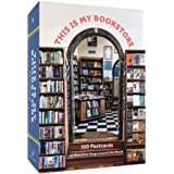 This Is My Bookstore: 100 Postcards of Beautiful Shops around the World (Notecards for Book Lovers, Stationery Featuring Book