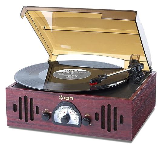40 opinioni per ION Audio Trio LP Impianto Stereo, Giradischi Vintage con Trasmissione a