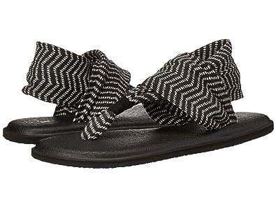 0348b5a9795 Amazon.com  Sanuk Women s Yoga Sling 2 Solid Vintage Flip-Flop ...