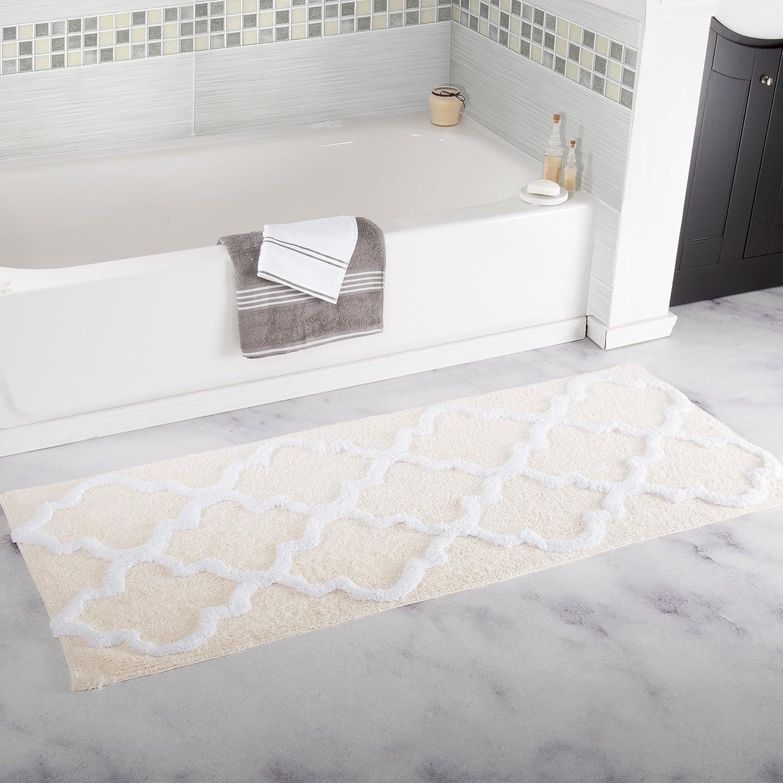 bathroom rug runner 24x60 bath rug runner 72 24 x 60