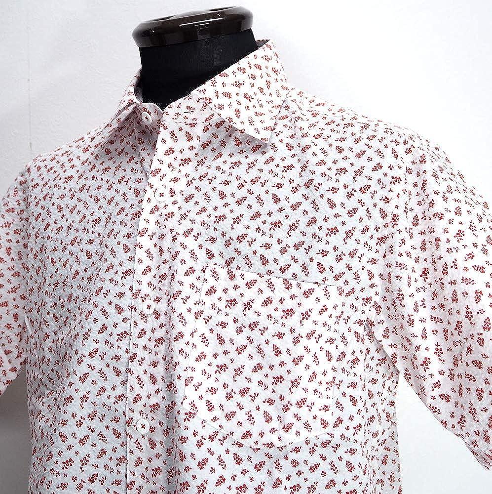 数量限定セール  50016 ゴルフ G&G 日本製 GEEGELLAN ジーゲラン 日本製 半袖 サッカ生地 シャツ 半袖 レッド 46(M) サイズ 日本製 メンズ カジュアル 男性 春夏 ゴルフ 通販 B07NP7L6SR, HONEY ME EYES:275326a1 --- narvafouette.eu