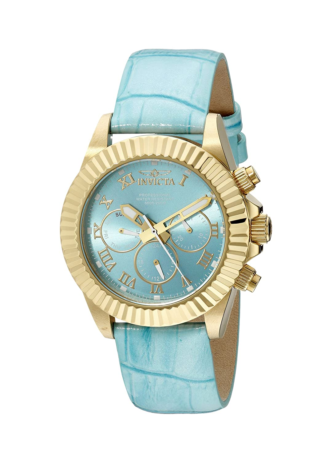 Invicta Women s 18487 Pro Diver Analog Display Swiss Quartz Blue Watch