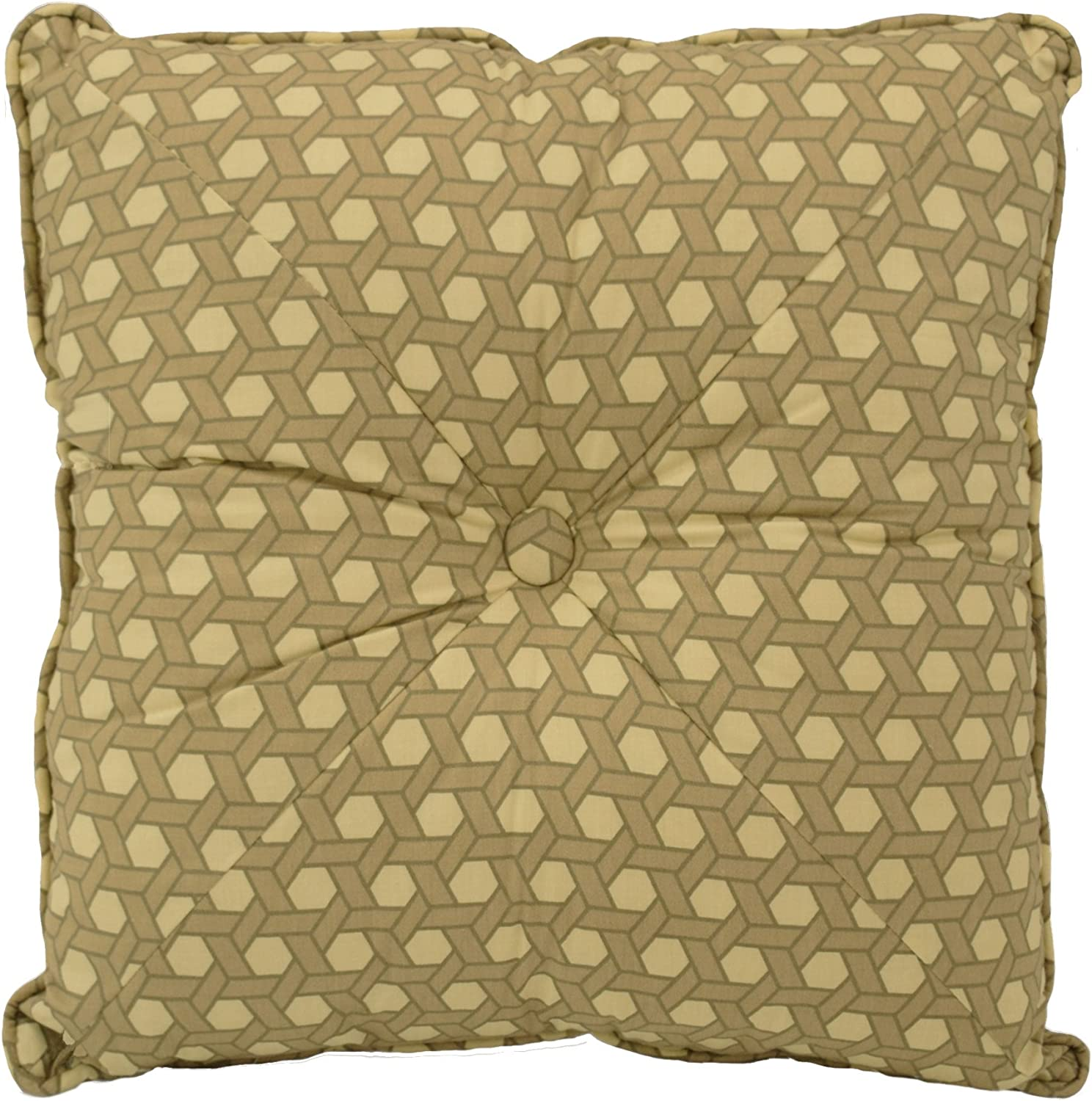 "Waverly Garden Glory Decorative Pillow, 16"" x 16"", Mist"