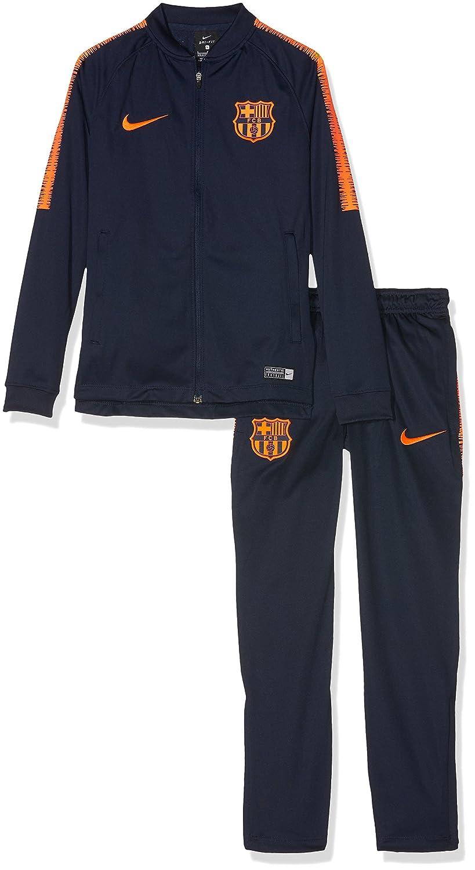 Nike FCB Y Nk Dry Sqd TRK K, Chándal de fútbol Unisex para niños ...