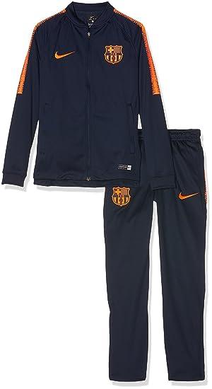 Nike FCB y NK Dry Sqd TRK K, Traje de fútbol Unisex Niños ...