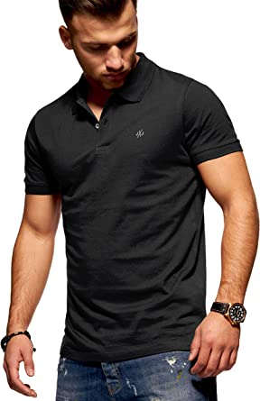 JACK /& JONES Polo da Uomo Maglietta Manica Corta Maglietta Camicia