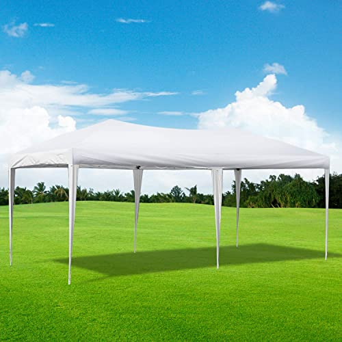 charaHOME 10 x 20 ft Heavy Duty Ez Pop Up Gazebo Canopy Tent