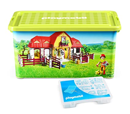 Playmobil 064663 - Caja con compartimentos para juguetes