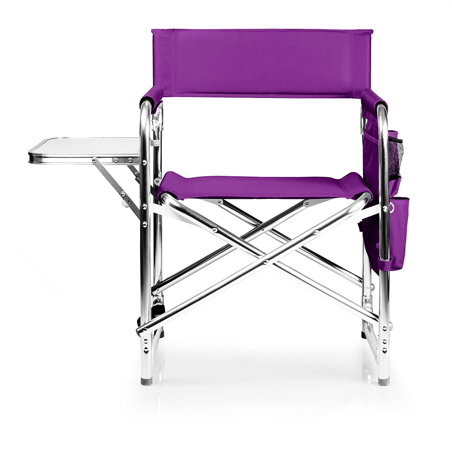 ONIVA – a Picnic Time brand Portable Folding Sports Chair, Purple