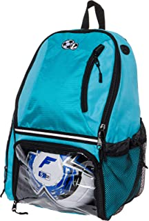 1d52609683ab Amazon.com   Vizari Solano Soccer Backpack (Black)   Soccer Ball ...