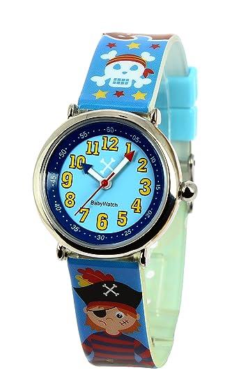 Baby Watch Coffret Matelot - Reloj analógico de cuarzo para niño, correa de plástico: Amazon.es: Relojes
