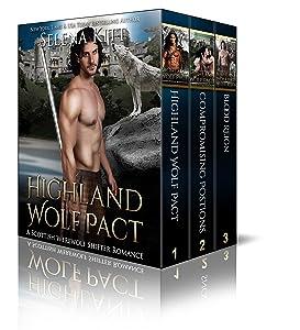 Highland Wolf Pact Boxed Set: (Scottish Wolf Shifter Romance Bundle)