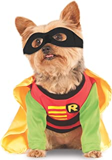 Rubieu0027s Costume Teen Titans Pet Costume Robin  sc 1 st  Amazon.com & Amazon.com : Rubieu0027s DC Comics Pet Costume Classic Batman Large ...