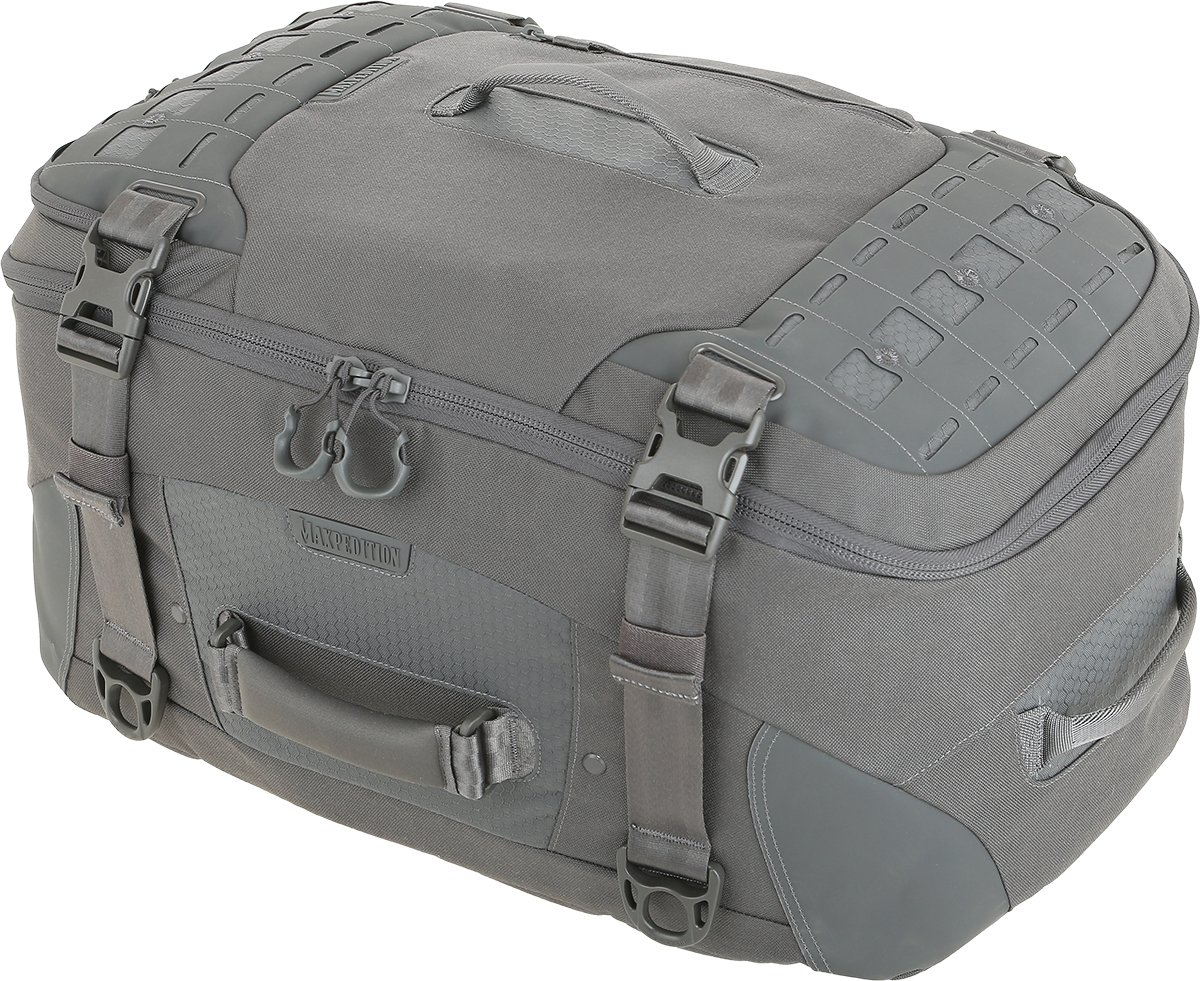 MXRCDGRY-BRK Ironcloud Adventure Travel Bag