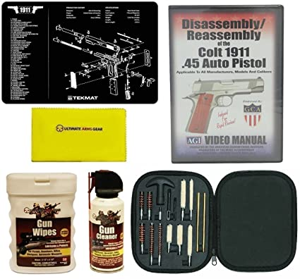 AGI DVD COLT 1911 .45 AUTO Pistol Disassembly and Reassembly + Ultimate Arms Gear Gun