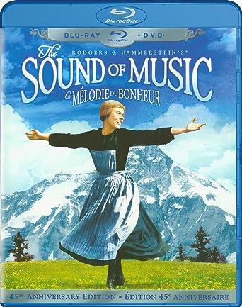 Amazon com: The Sound of Music (45th Anniversary Edition) (Blu-ray +