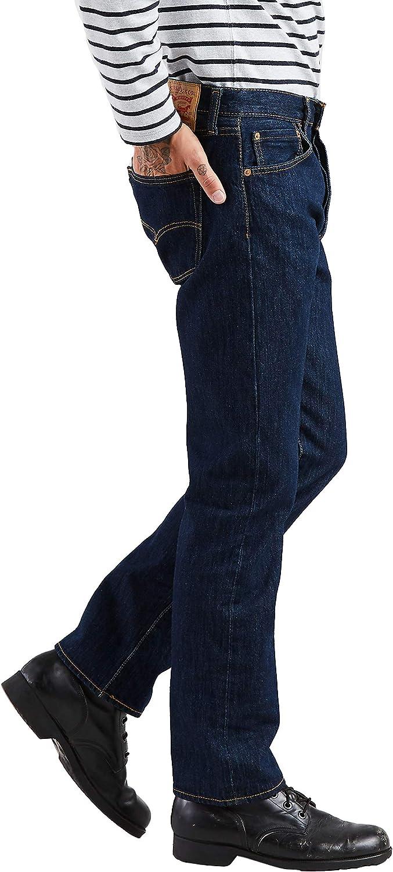 Levi's Men's Vaquero 504 Regular Recto Jeans Rinse