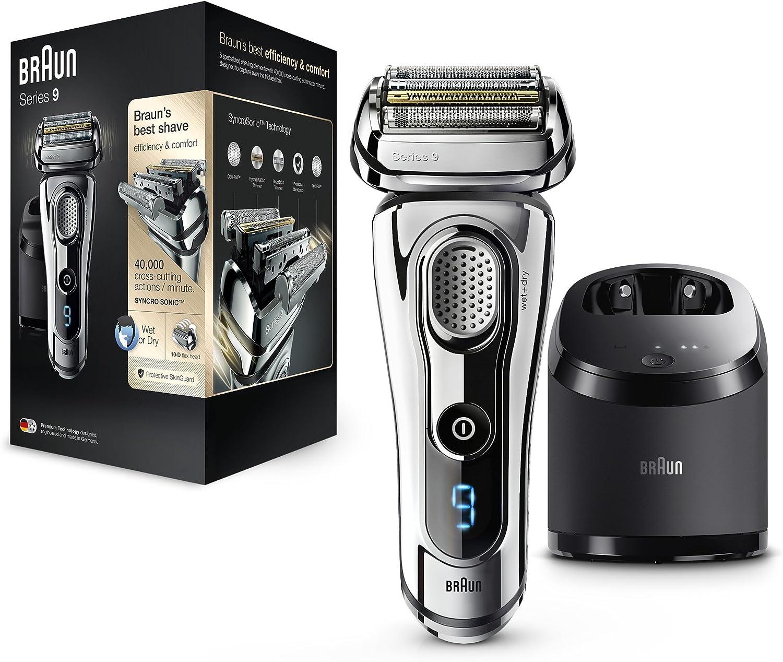 Braun Series 9 9295cc afeitadora eléctrica para hombres, en seco y ...