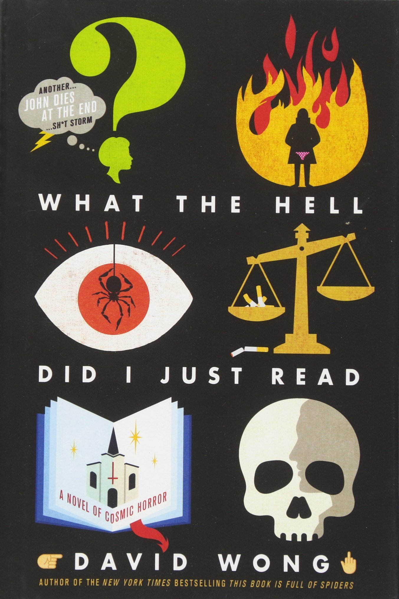 What the Hell Did I Just Read: A Novel of Cosmic Horror (John Dies at the End, Band 3)