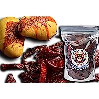 CHILLITITLAN Mango Deshidratado Enchilado sin Azúcar Añadida 920 gramos, 2 bolsas 460 gramos