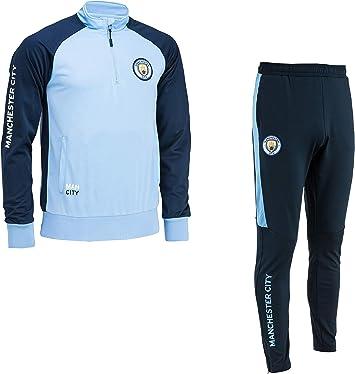 Manchester City Pantalones Training fit Colecci/ón Oficial Talla ni/ño