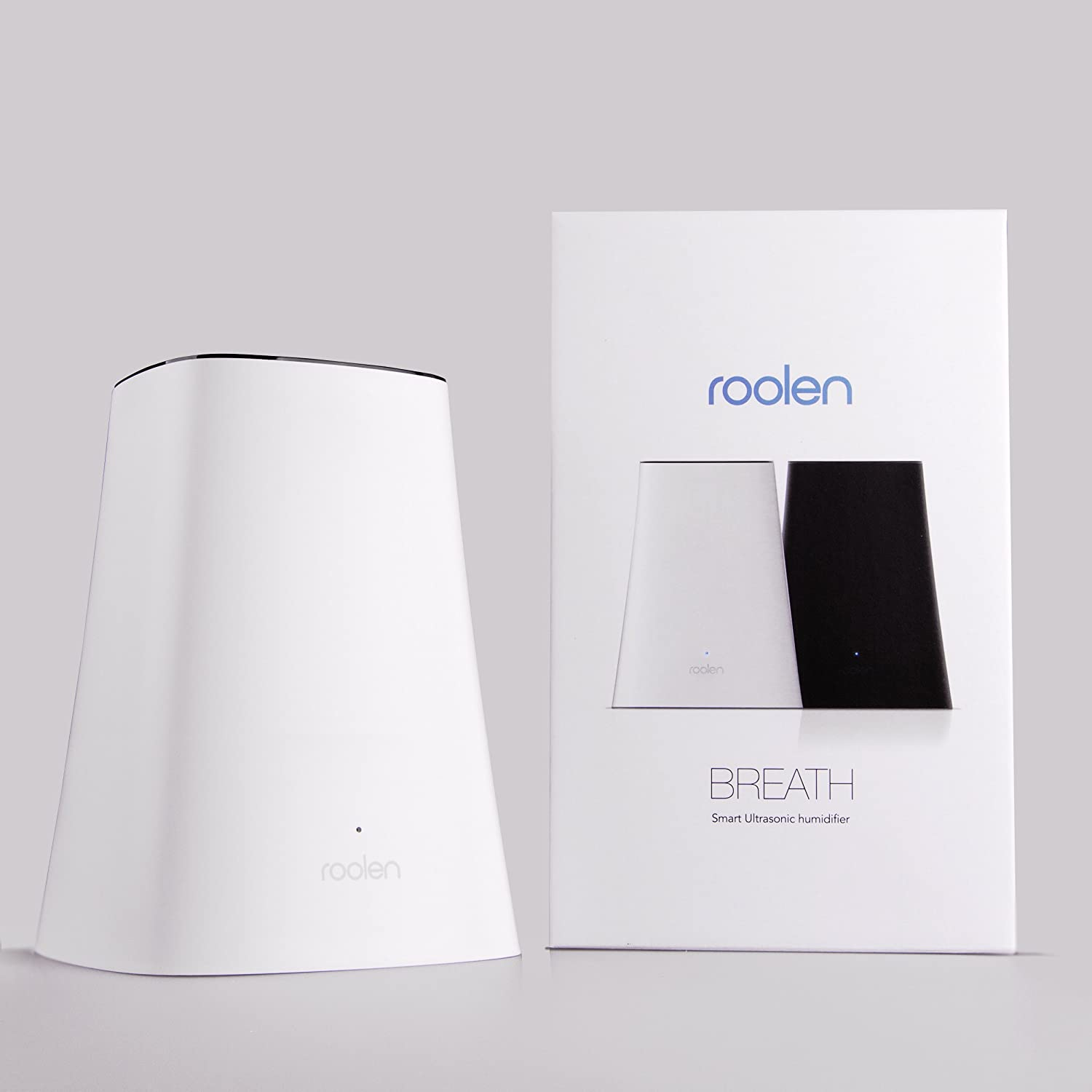 Amazon.co.jp : BR01/W Breath Cool-Mist Humidifier クールミスト 加湿器 Roolen社  White【並行輸入】 : ホーム&キッチン