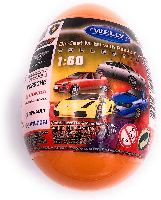 H-Customs Voitures en /œufs surprennent Porsche Ferrari Aston mod/èles autoris/és 1:60