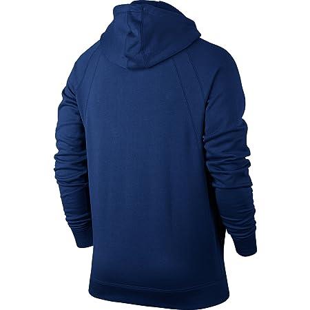 94d65066fa90db Amazon.com  Jordan Sportswear Wings Fleece Men s Full-Zip Hoodie Blue Black  860196-455 (Size M)  Sports   Outdoors