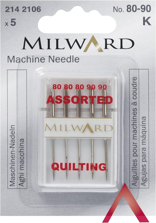 Milward 2142106 - Aguja para máquina de Coser