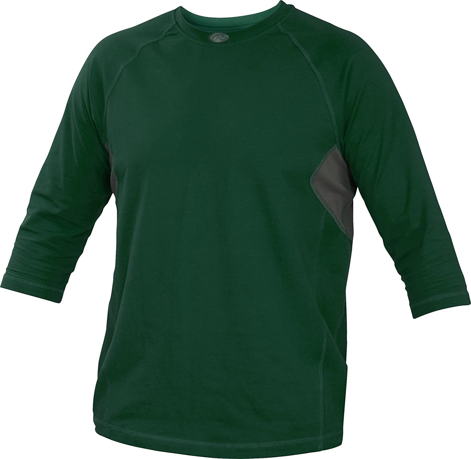 Rawlings Sporting Goods Adult 3/4 Sleeve Performance Shirt RS34