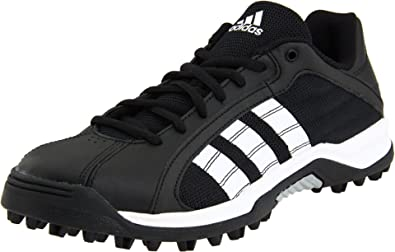 54fb636aa05c adidas Men's Turf Hog Le Low Football Cleat,Black/Run White/Meticall Silver