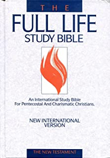 Niv Life In The Spirit Study Bible Formerly Full Life Study
