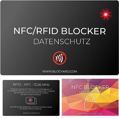 NFC21 - Bloqueador de Tarjetas de crédito con LED para ...