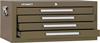"""product image for Kennedy Manufacturing 2604B 4-Drawer Mechanics' Base Cabinet, 26"""", Brown Wrinkle"""