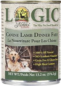 Nature's Logic Canned Dog Food - Lamb - 12 x 13.2 oz