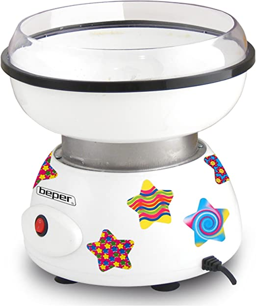 Beper 90.389 Cotton Candy 90.389-Máquina para Hacer algodón de azúcar, Multicolor: Amazon.es: Hogar