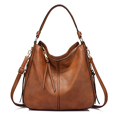 243ae96494312 Shoulder Bags for Women Large Ladies Crossbody Bag with Tassel  Handbags   Amazon.com