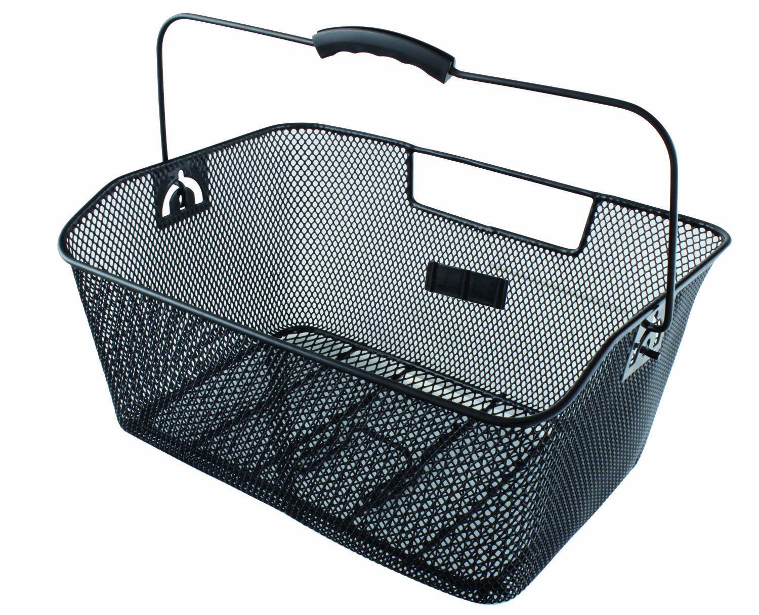 M Wave Front Or Rear Bicycle Wire Basket: Amazon.co.uk: Sports ...