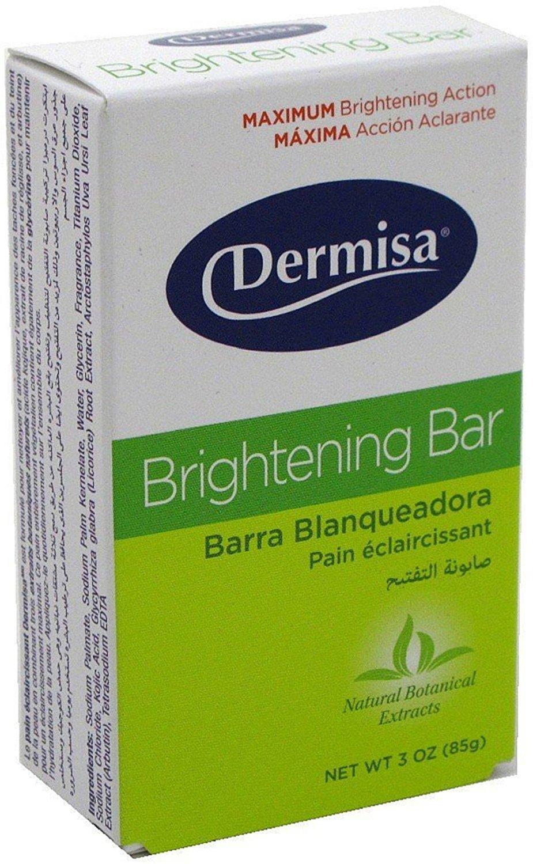 Dermisa Brightening Bar 3 oz (Pack of 12)