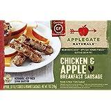 Applegate, Natural Chicken & Apple Breakfast Sausage, 7oz (Frozen)