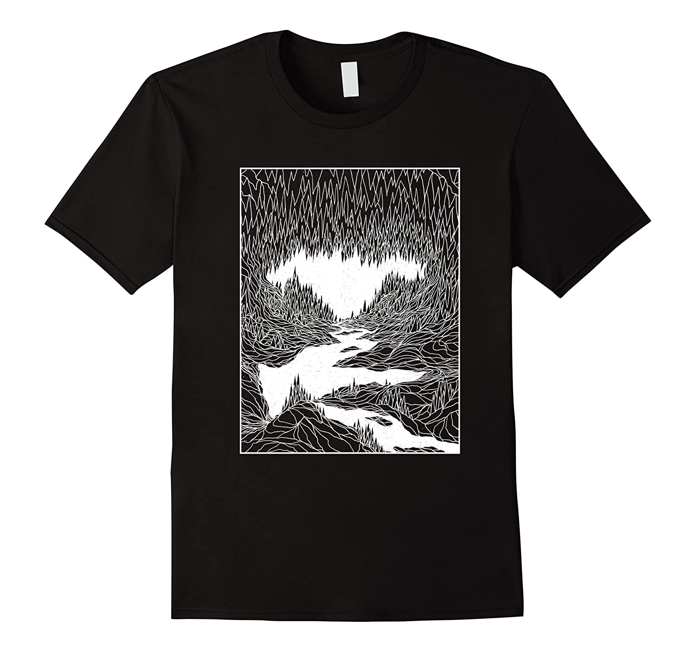 Cave Trip T-Shirt by Lucas Allen Cook-TH